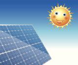 Comitato solare montato tetto di Haochang che genera elettricità all'intera Camera