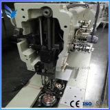 Unison sola aguja de coser del punto de cadeneta de alimentación de la máquina