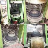 Tipo de marco vulcanizador del neumático de la motocicleta del neumático del alimentador de la vejiga de aire/máquina de vulcanización hidráulica de la prensa