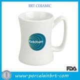 14 Oz Branco cerâmica personalizado Diner Caneca Cup