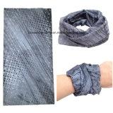 Пестрый платок выдвиженческого изготовленный на заказ полиэфира типа буйволовой кожи безшовного пурпуровый напечатанный Paisley