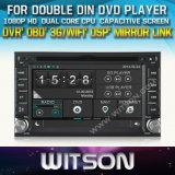 Witson Universal Double DIN DVD Player de carro (W2-D8900G)