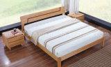 Festes hölzernes Bett-moderne doppelte Betten (M-X2339)
