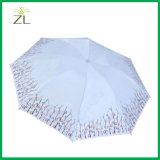 Печать Sun изготовления Китая дешевая изготовленный на заказ и складчатость Umbrela печатание панелей Красотки 8 зонтика дождя повелительницы изготовленный на заказ