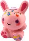 소리 (RB10155)를 가진 토끼 동전 은행