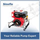 pompe à eau auto-amorçante d'incendie de vide portatif du moteur diesel 13HP