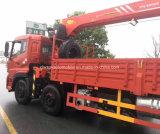 8X4頑丈なトラックはクレーン16トンのと望遠鏡アーム取付けた