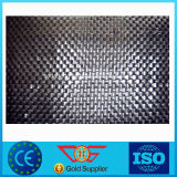 Geotêxtil tecido PP branco do preto