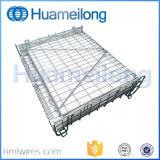 Gaiola galvanizada de empilhamento Foldable do armazenamento da pré-forma do animal de estimação do metal