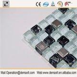 Square piscina de cristal de cristal del mosaico con el precio de fábrica