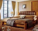 Твердые деревянные кровати современные кровати (M-X2230)