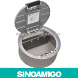 Access Floor Power Outlet Caja de suelo redonda