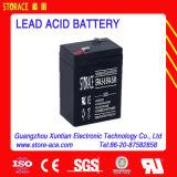 batterie d'acide de plomb de 6V 4.5ah pour l'usage d'UPS (SR4.5-6)