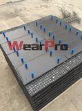 시멘트 착용 보호를 위한 채광 사용된 마포 저항하는 강선 격판덮개