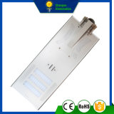 50W todo en una calle Solarlight del panel del LED