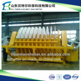 Machine de déshydratation de boues d'exploitation minière, de la céramique du filtre d'assèchement de disque
