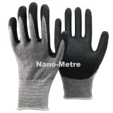 Nmsafety песчаных готово нитриловые перчатки Anti-Cut с покрытием