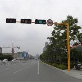 Acciaio Pali del segnale stradale della via
