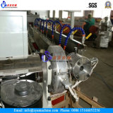 Maquina de espiral reforçada com fibra de alta pressão de PVC / máquina de extrusão de tubo