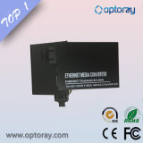 10 / 100m Fiber Media Converter com função LFP