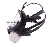 Máscara de gás de silicone Face facial Completa Respirador Pintura Pulverização U