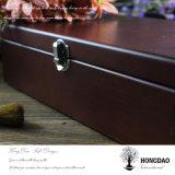 Doos van de Opslag van de Juwelen van de Douane van Hongdao Retro Houten voor Verkoop _E