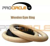 Nouvelle salle de gym Crossfit Ringssuper anneaux en bois de la qualité de la salle de gym (PC-GR1007)
