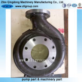 Enveloppe de pompe de Durco de bâti d'acier inoxydable de pompe chimique/acier du carbone