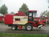 줄 공간 한계 없이 옥수수 수확기 기계장치
