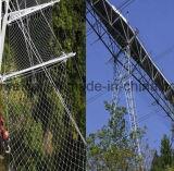 Сетка кабеля нержавеющей стали для предохранения от падения