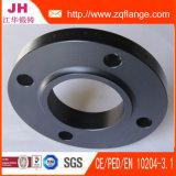 Bride de pipe d'acier du carbone de collet de soudure de DIN2633 Pn16