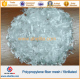 PP fibra fibrilada con buen concreto-Strengthning