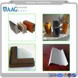 Perfil de aluminio industrial de piezas industriales