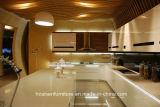 2018 het Nieuwe Moderne Ontwerp van de Keukenkast van de Lak van het Meubilair van de Keuken Simpe Glanzende
