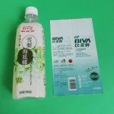 Étiquette rétréciable pour l'emballage des boissons en bouteille