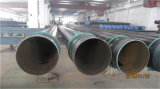 A tubulação de aço do leste 3lpe de Weifang revestida viu a tubulação de aço