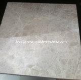 Mármol chino pulido del azulejo de mármol marrón claro de Emperador (DES-MT06)