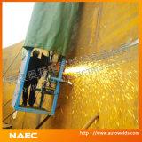 自動タンク構築機械及びタンク溶接機