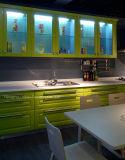 Module de cuisine moderne de laque de modèle de Fasional d'utilisation commerciale