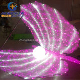 Acrylique LED Pearl Sea Clams for Underwater Theme Park