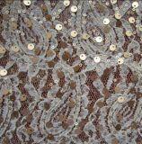 Spandex en nylon Lace avec Sequin Embroidery (#1812)