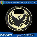 Oferta promocional de bebidas cerveja abridor de garrafa de metal com o logotipo personalizado