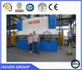 Máquina de dobra hidráulica Wc67-125/4000 da placa da indicação digital da série de WC67Y