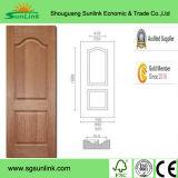 Piel HDF moldeado puerta moderna con SGS Aprobado
