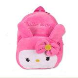 Formazione iniziale della peluche dello zaino del sacchetto del sacchetto dei bambini prescolari svegli del bambino (GB#bag409)