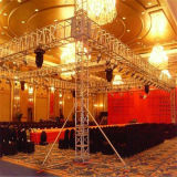 Cheap Big Aluminum Spigot Bolt Large Concert Stage Trade Show Global 200X200mm Backdrop Truss