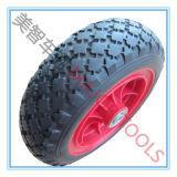 Pu wheel/300-4 het RubberWiel van het Schuim Wheel/PU voor Kruiwagen