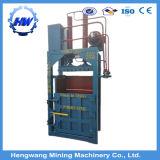 Máquina hidráulica vertical de la prensa para la ropa usada