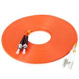 Duplex à plusieurs modes de fonctionnement de fibre optique 50/62.5 de cordon de connexion LC-Rue