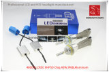 Indicatore luminoso dell'automobile del LED del faro del LED con il chip H4 9600lm 6000k del CREE Xhp-50